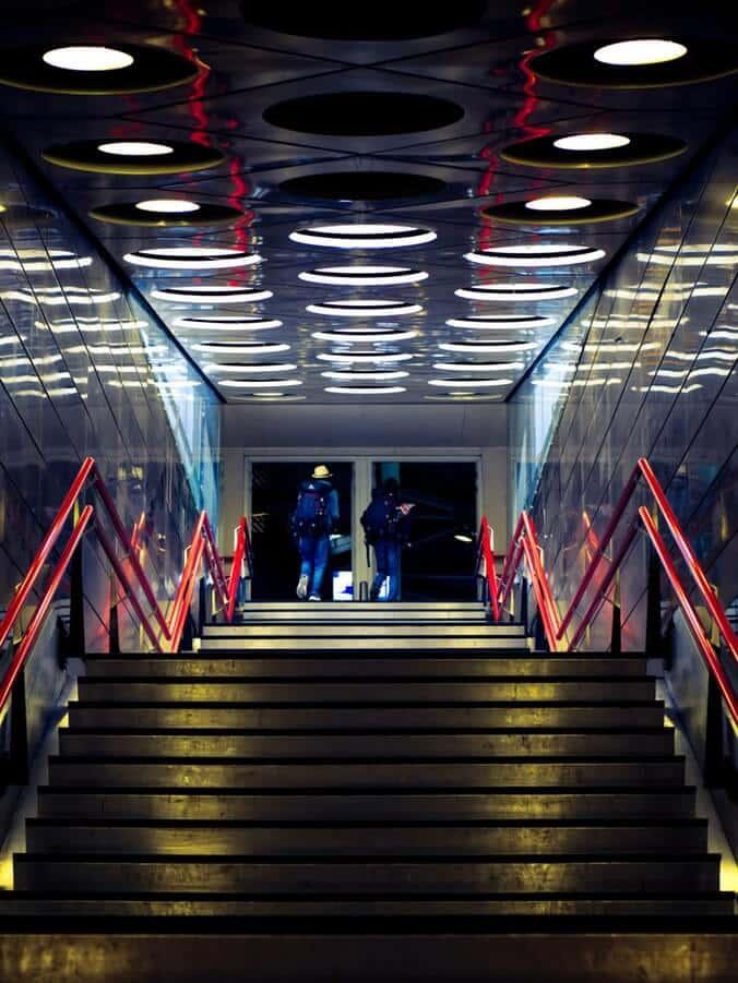 Check In am Flughafen Amsterdam